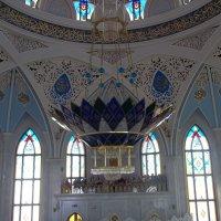 Светильник в мечети Кул Шариф :: Владимир Ростовский