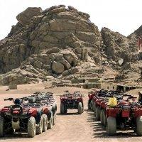 По Синайскому полуострову на квадроциклах :: Александр Рейтер
