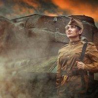 Война гуляла по России... :: Надежда Бирюкова