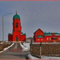 Церковь Рождества Пресвятой Богородицы в Монастырщине :: Дмитрий Анцыферов