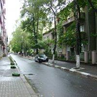 Улица Михаила  Драгоманова  в  Ивано - Франковске :: Андрей  Васильевич Коляскин