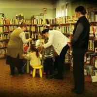 Знакомство с библиотекой с детского сада и это правильно!!! :: Ольга Кривых