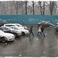 Апрельский снегопад :: muh5257