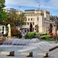 Пл. Республики и Национальный театр Сербии в Белграде (Сербия) :: Денис Кораблёв