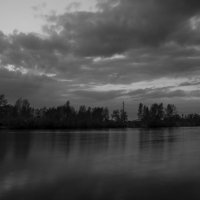 Тихий вечер на берегу Днепра :: Ксения Довгопол