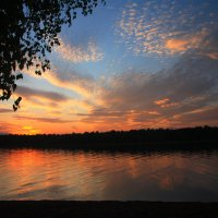 Закаты на Ангаре. :: BORIS LAMBERT