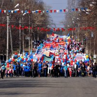 Парад 1 Мая :: Алексей Golovchenko