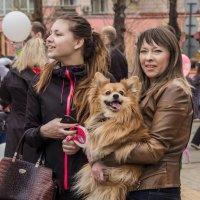 семья на демонстрации 1 мая 2015 года :: Людмила Мозер