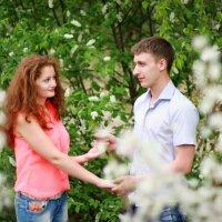 Двое и Весна :: Tatyana Belova