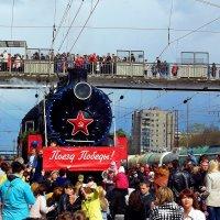 Поезд Победы на станции Ковров :: Mavr -
