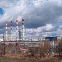 Индустриальный пейзаж :: Ольга Говорко