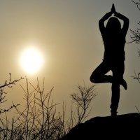 Немного йоги в ванильном небе :: Татьяна