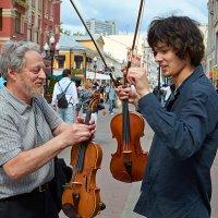 Попробуй эту скрипку, мальчик... :: Valeriy(Валерий) Сергиенко