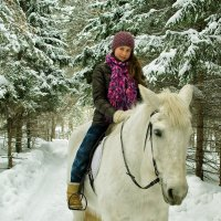 Прогулка на лошади :: Дмитрий Конев