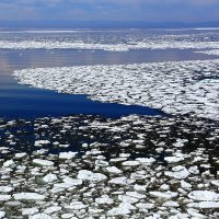 лёд уходит... :: Алексей Белик