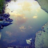 А небо может упасть... :: Нина Сыроватская