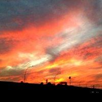 Полыхает закат. :: Natali Lubich