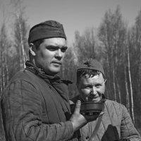 Два товарища. :: Владимир Питерский