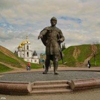 Памятник Юрию Долгорукому в Дмитрове. :: Виктор Евстратов