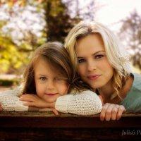 Мама и дочь :: Julia Pitt