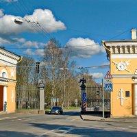 Московские ворота в Пушкине :: Олег Попков
