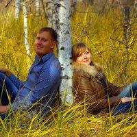 В осеннем лесу :: Максим Кочетков