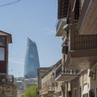 Баку город контрастов. :: Андрей Синявин