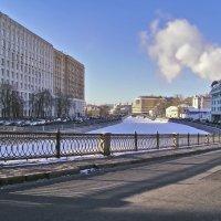 Москва. Водоотводный канал :: Денис Масленников