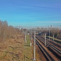 По этой дороге -  в Москву!  Железная дорога-58 :: Фотогруппа Весна.