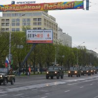 МИНСК. РЕПЕТИЦИЯ ВОЕННОГО ПАРАДА (3) :: Валерий Руденко
