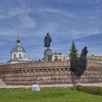 Памятник Афанасию Никитину в Твери :: Михаил (Skipper A.M.)
