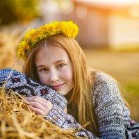 Девочка-весна :: Виктория Дубровская