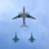 Самолёты на Параде Победы в Москве 9 мая 2015 :: Ирина Н