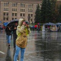 Дождь увлечению не помеха :: Марк