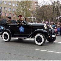 Штабной автомобиль «ГАЗ-А» (9 мая 2015 Парад в Ижевске) :: muh5257