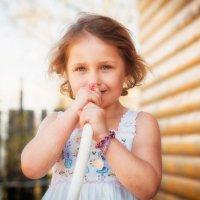 Маленькая певица© :: Дмитрий Гришин