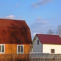 Деревенские домики :: Фотогруппа Весна.