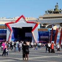 День победы на Дворцовой :: Ирина Фирсова