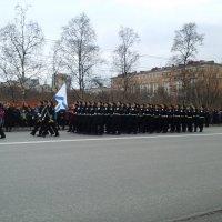 Парад Победы в городе Герое Мурманске 9 мая 2015 :: Надежда