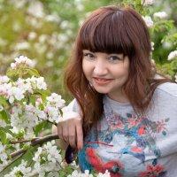 Разведка в садах перед выездом на съёмки )) :: Райская птица Бородина