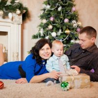 Семейная фотосессия Павла и Натальи :: Александр Симонов