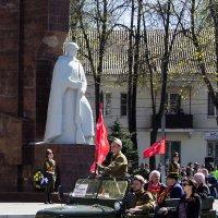 У Вечного огня в День Победы. Егорьевск. :: Дмитрий
