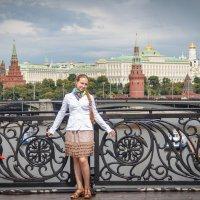 На фоне Кремля :: Павел Белоус