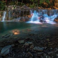 Водопад на реке Жане :: Александр Хорошилов