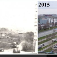 Район Отрадное: как было и как сейчас :: MaksimKa -