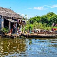 Камбоджа. Плавучая деревня на озере Тонлесап. :: Rafael