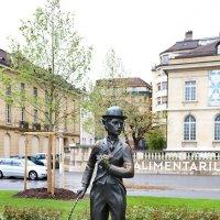 Памятник Чарли Чаплину, Веве, Швейцария :: Larisa Ulanova