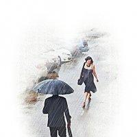 Встреча.Я спасу тебя от дождя :: Лидия (naum.lidiya)