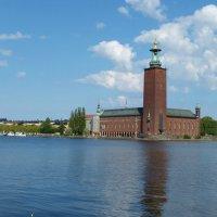 Стокгольм, Ратуша, озеро Миларен :: Андрюха Батькович