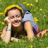 Девушка-весна... :: Михаил Петрик
